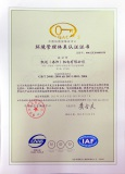 ISO 14001 Certificate of Environment