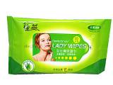 10pcs female make-up cleaing wet wipes
