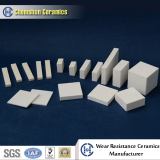 Wear resistant ceramic lining abrasion damage analysis