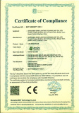 CE EMC Certificate for LED Neon Flex