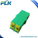 LC/APC Duplex Fiber optical adapter with auto shutter