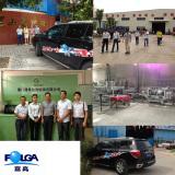 2013 Activity of FOLGA. Five hearts to warm one heart activity.