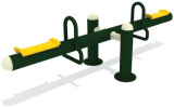 outdoor metal seesaw