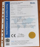 Time relay CE certificate