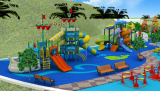 outdoor playgruond for amusement park