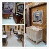 Bathroom Cabinet Sevies in Showroom