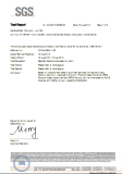 ABS SGS Test report