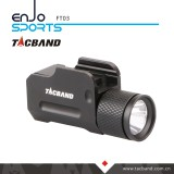 Compact Tactical Flashlight for Handgun or Pistol, High Output CREE LED, Aluminum Body