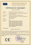 CE Certificate for EN500 (EMC)