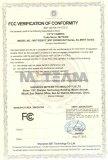 CCTV Camera FCC certificate