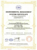 ISO 14001 of hight and low voltage switch appliance and electrical element