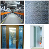4mm, 5mm, 6mm Patterned/Figure/Rolled Glass for Decoration Glass