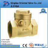 Brass swing check valve with best price