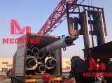 MEGATRO 33KV monopole tower delivery