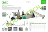 PP PE granulating machine