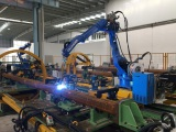 welding the short pipe