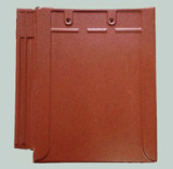 NEW PRODUCT-CLAY FLAT ROOF TILE