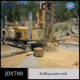 JDY700 is very powerful and efficient for drilling deep water well though hard rocks