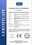 CE certificate of drying oven