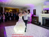 led starlit twinkling dance floor