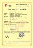 sensor CE certificate