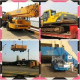 Used Volvo Excavator and Tadano Truck Crane Shipping by RORO