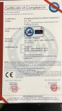 CE certificate for inflatable life jacket