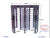 Tianhong Full Height Turnstile Approved for Mitsbushi Heavy Industrial Project