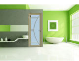 Splendid Style Waterproof Bathroom Aluminum Door