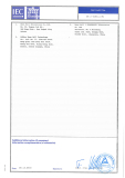 CB Test Certificate 2