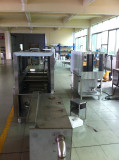 assembly machine and half products