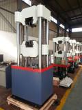 Hydraulic universal testing machine for steel manufacturer