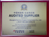 Audited Supplier (SGS)