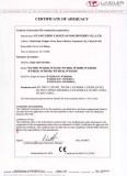 Single Shaft Shredder CE Certificate