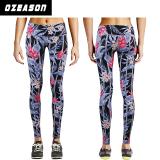 women′s yoga pants, compression tights, printed leggings