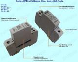 2 poles surge protector 9mm / pole, 40kA