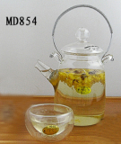 glass tea set / tea pot