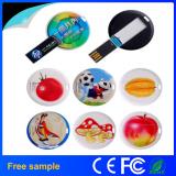 Colorfull Printing Business Circle Card USB Drives