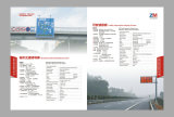 Roadway oriented display screen & traffic information display screen