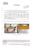 H20 timber beam SGS test report, EN13377 standard