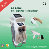 E6 Big spot size ipl elight q-switched nd yag hair removal machine