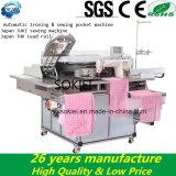 Fully automatic intelligent CNC no-iron patch pocket sewing machine