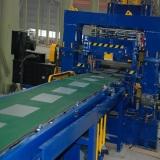 aluminum coil cutting machine