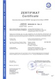 CE Certificate Issued by DOT Organization