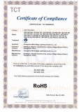 RoHS certificate LED PAR LIGHT