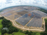 127.44MW Horizontal Single-axis Tracking System Solar Plant- Lampang, Thailand