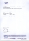 pu leather SGS Test Report