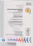 FSC ( Forest Stewardship Council ) Certificate