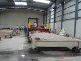 semi-automatic quartz slab press customer in Guangdong