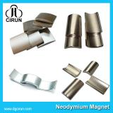 Arc shape permanent neodymium magnet for motor generator